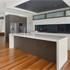 Island kitchen benchtop and butlers kitchen